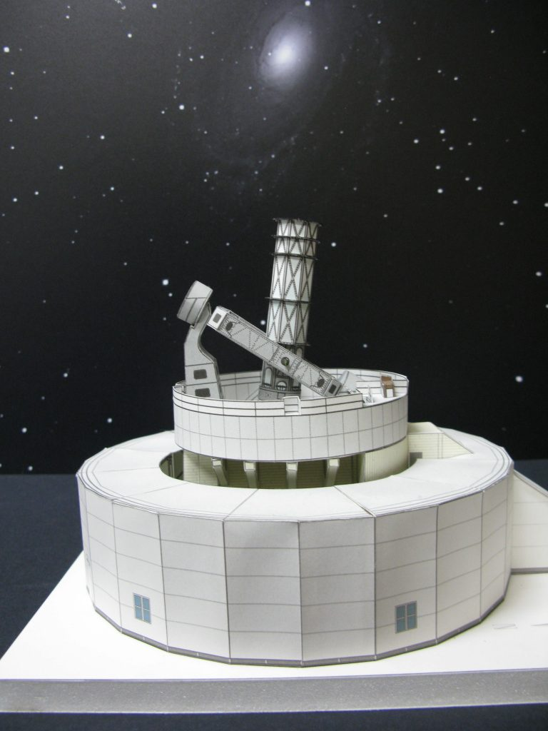 Mount Wilson Observatory 100 Inch Telescope Paper Model